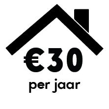 click 30 euro per jaar
