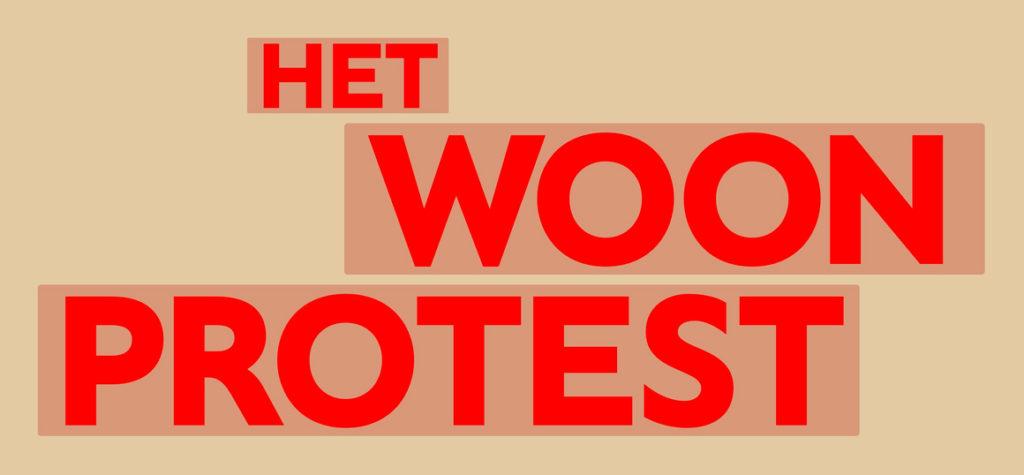 Woonprotest.nl website logo